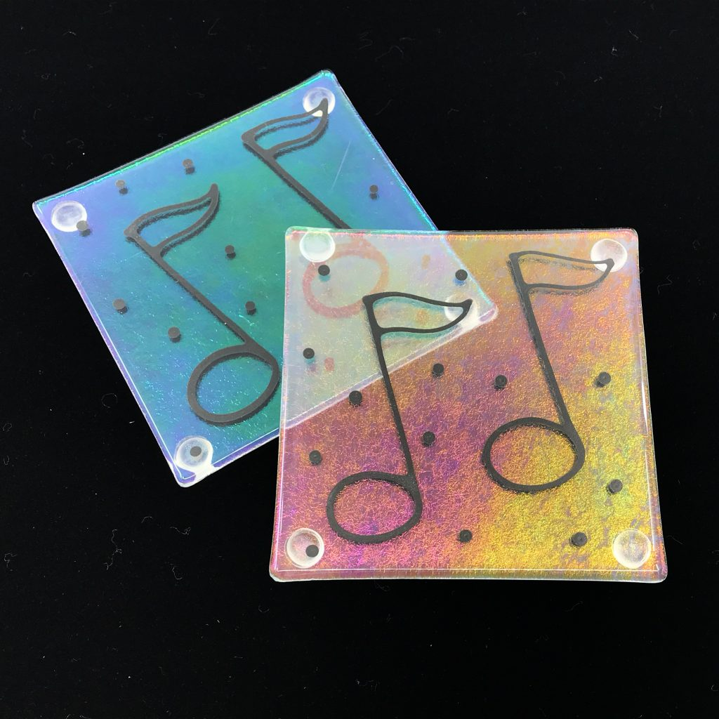 Music Note Coasters