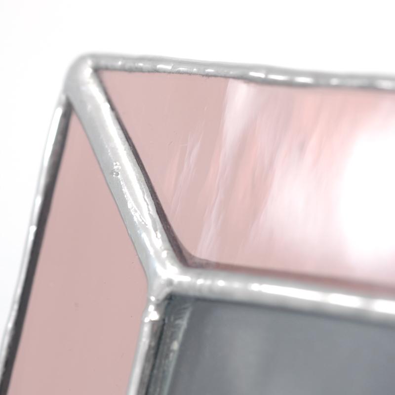 Pink frame closeup