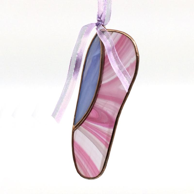 Pink ballet slipper