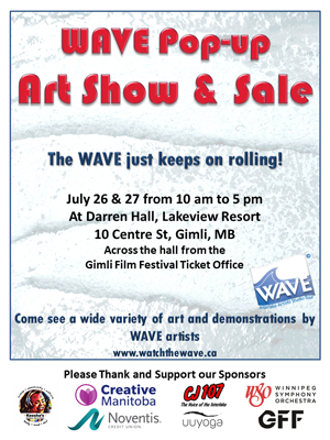 WAVE Pop-Up Show and Sale