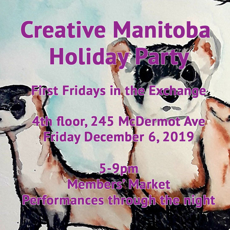 Creative Manitoba Holiday Party
