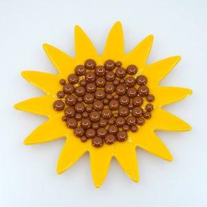 Fused Glass Garden Art Bee Waterer Butterfly Mini Sunflower Sipper