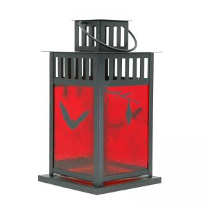 Fused Glass Dusk Bat Lantern