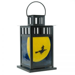 Fused Glass Witching Hour Lantern