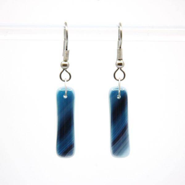 Blueberry Swirl Earrings