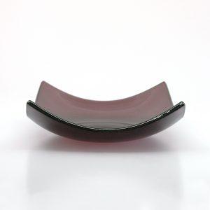 Sugar Plum Fused Glass Bowl