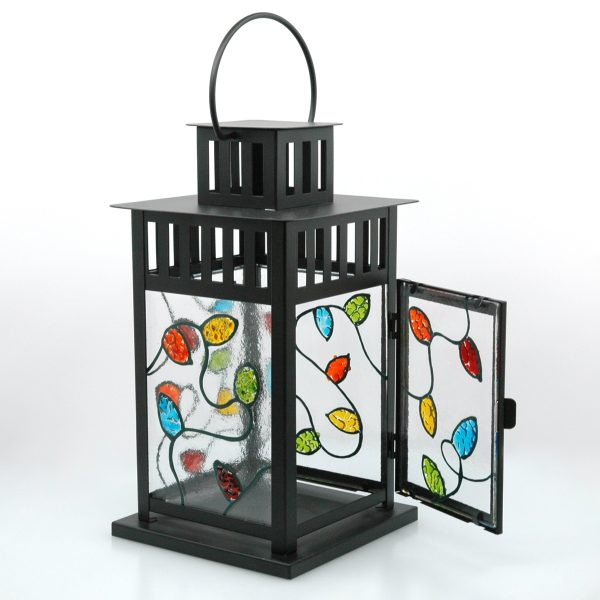 Tanglelight Fused Glass Lantern