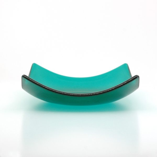 Wintergreen Fused Glass Bowl